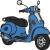 Transporte de dos ruedas
